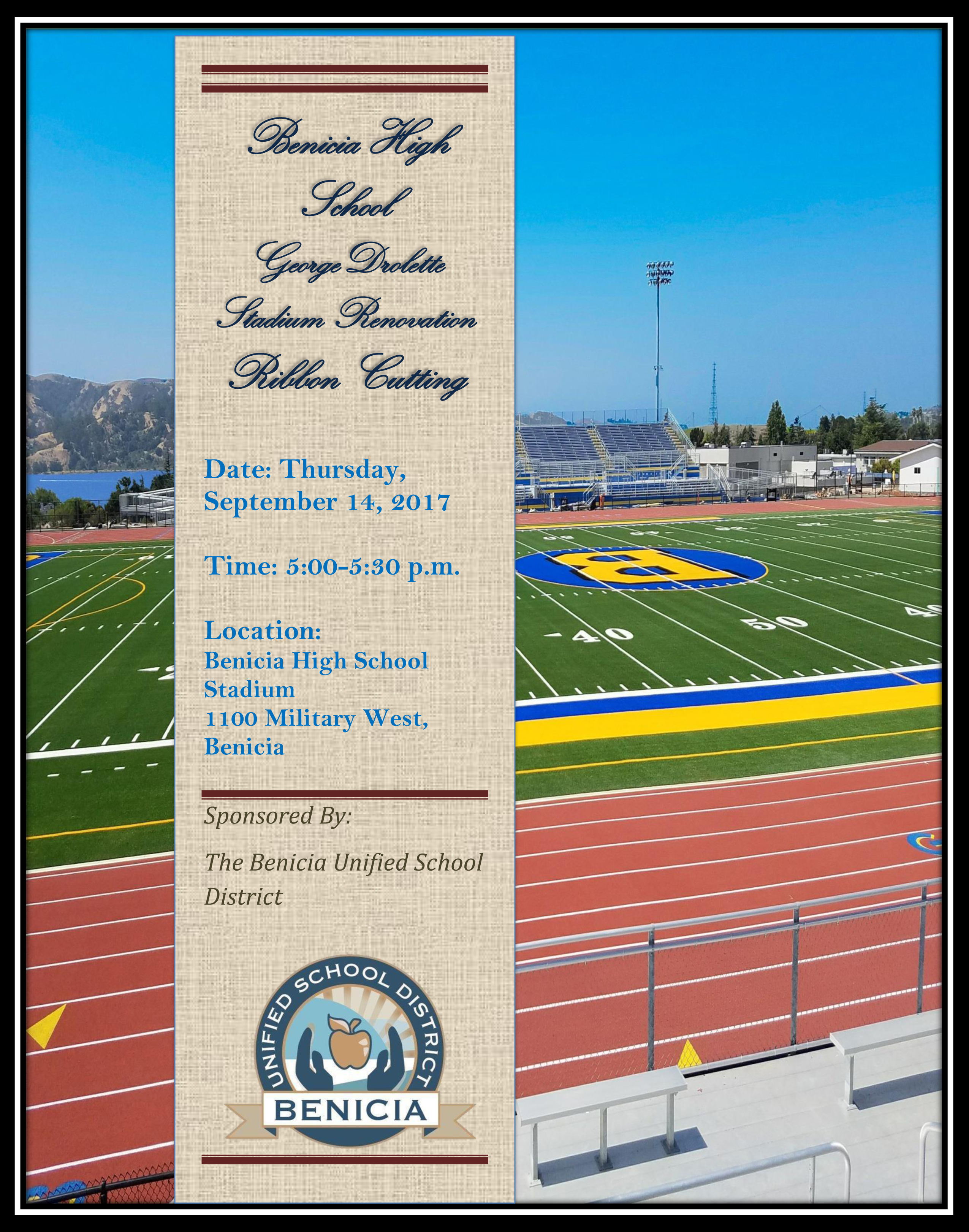 BHS Stadium Invitation